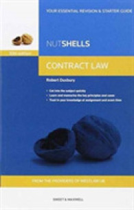 Link to an enlarged image of Nutshells Contract Law -- Paperback / softback (10 ed)