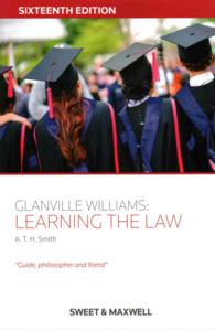 Link to an enlarged image of Glanville Williams: Learning the Law (16TH)