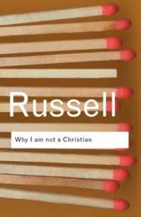 Link to an enlarged image of Why I am not a Christian: and Other Essays on Religion and Related Subjects (Routledge Classics) (2ND)