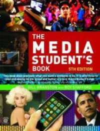 Link to an enlarged image of The Media Student's Book (5th Paperback + Pass Code)