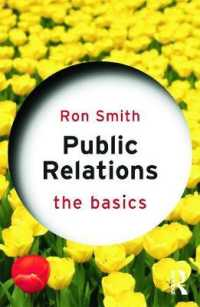 Link to an enlarged image of Public Relations : The Basics (The Basics)