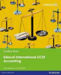 Link to an enlarged image of Edexcel International GCSE Accounting Student Book with ActiveBook CD (Edexcel International GCSE)