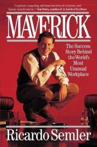 Link to an enlarged image of Maverick : The Success Story Behind the World's Most Unusual Workplace (Reprint)