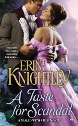 Link to an enlarged image of A Taste for Scandal (Sealed with a Kiss)