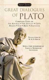 Link to an enlarged image of Great Dialogues of Plato : Complete Texts of the Republic, the Apology, Crito Phaedo, Ion, Meno, Symposium (Reprint)
