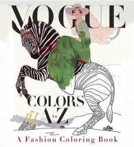 Books Kinokuniya Vogue Colors A To Z Adult Coloring Book