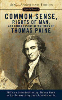 Link to an enlarged image of Common Sense, the Rights of Man, and Other Essential Writings (Reprint)