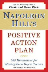 Link to an enlarged image of Napoleon Hill's Positive Action Plan : 365 Meditations for Making Each Day a Success (Reprint)