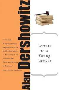 Link to an enlarged image of Letters to a Young Lawyer