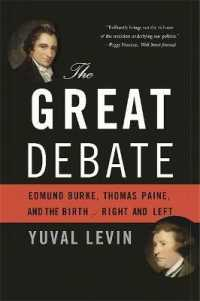 Link to an enlarged image of The Great Debate : Edmund Burke, Thomas Paine, and the Birth of Right and Left