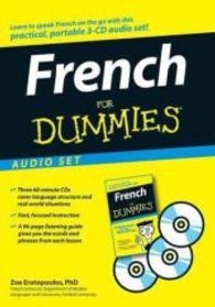 Link to an enlarged image of French for Dummies (3-Volume Set) (For Dummies (Language & Literature)) (Spoken Word Compact Disc + Paperback)