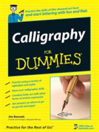 Link to an enlarged image of Calligraphy for Dummies (For Dummies (Sports & Hobbies))