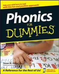 Link to an enlarged image of Phonics for Dummies (For Dummies (Career/education)) (Paperback + CD-ROM)