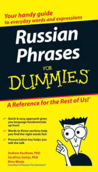 Link to an enlarged image of Russian Phrases for Dummies (For Dummies (Language & Literature)) (Bilingual)