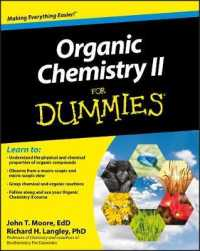 Link to an enlarged image of Organic Chemistry II for Dummies (For Dummies (Math & Science))