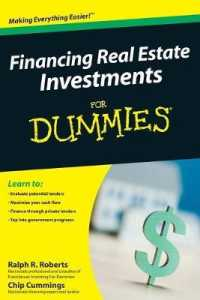 Link to an enlarged image of Financing Real Estate Investments for Dummies (For Dummies (Business & Personal Finance))