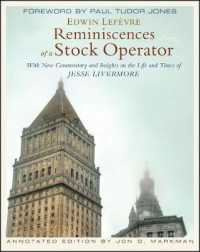 Link to an enlarged image of Reminiscences of a Stock Operator : With New Commentary and Insights on the Life and Times of Jesse Livermore (Annotated ed.)