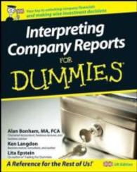 Link to an enlarged image of Interpreting Company Reports for Dummies (For Dummies S.) -- Paperback