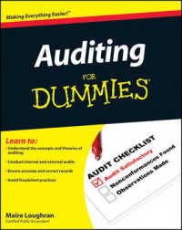 Link to an enlarged image of Auditing for Dummies (For Dummies (Business & Personal Finance))
