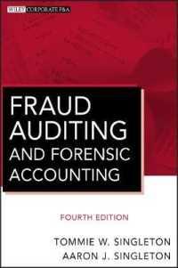 Link to an enlarged image of Fraud Auditing and Forensic Accounting (Wiley Corporate F&a) (4th)