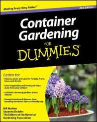 Link to an enlarged image of Container Gardening for Dummies (For Dummies (Home & Garden)) (2nd)