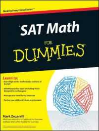 Link to an enlarged image of SAT Math for Dummies (For Dummies (Math & Science))