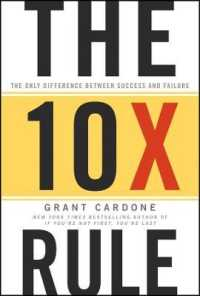 Link to an enlarged image of The 10X Rule : The Only Difference between Success and Failure