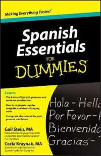 Link to an enlarged image of Spanish Essentials for Dummies (For Dummies (Language & Literature)) (Bilingual)