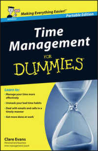 Link to an enlarged image of Time Management for Dummies