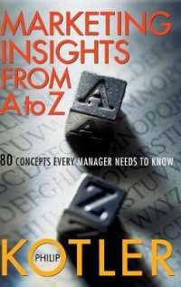 Link to an enlarged image of Marketing Insights from a to Z : 80 Concepts Every Manager Needs to Know