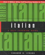 Link to an enlarged image of Italian : A Self-Teaching Guide (2nd)