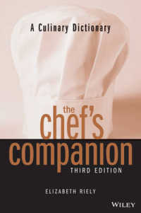 Link to an enlarged image of The Chef's Companion : A Culinary Dictionary (Chef's Companion) (3rd Subsequent)