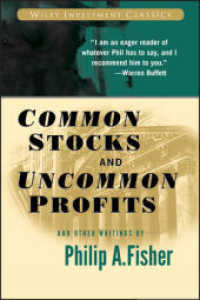 Link to an enlarged image of Common Stocks and Uncommon Profits and Other Writings