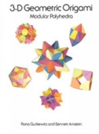 Link to an enlarged image of 3-D Geometric Origami : Modular Polyhedra
