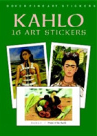 Link to an enlarged image of Kahlo : 16 Art Stickers (Dover Art Stickers) -- Paperback / softback