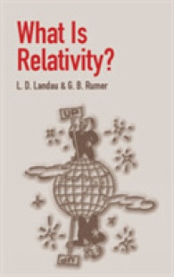 Link to an enlarged image of What Is Relativity?