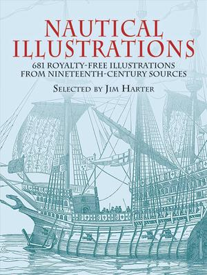 Link to an enlarged image of Nautical Illustrations : 681 Permission-Free Illustrations from Nineteenth-Century Sources (Dover Pictorial Archive Series)