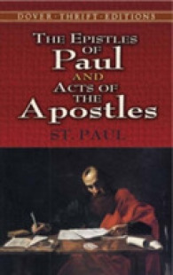 Link to an enlarged image of The Epistles of Paul and Acts of the Apostles (Thrift Edition)