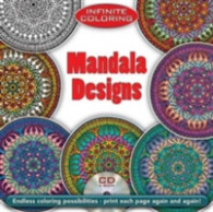 Link to an enlarged image of Infinite Coloring Mandala Designs Coloring Book (Dover Design Coloring Book) (CLR CSM PA)