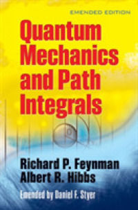 Link to an enlarged image of Quantum Mechanics and Path Integrals : Emended Edition
