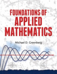 Link to an enlarged image of Foundations of Applied Mathematics (Reprint)
