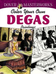 Link to an enlarged image of Color Your Own Degas Paintings (Dover Masterworks) (CSM)