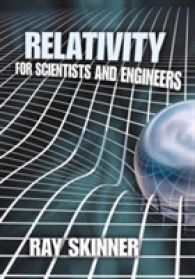 Link to an enlarged image of Relativity for Scientists and Engineers (Reissue)