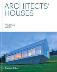 Link to an enlarged image of Architects' Houses -- Hardback