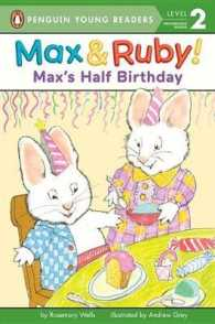 Link to an enlarged image of Max's Half Birthday (Penguin Young Readers)