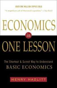 Link to an enlarged image of Economics in One Lesson