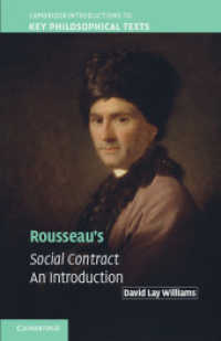 Link to an enlarged image of Rousseau's Social Contract : An Introduction (Cambridge Introductions to Key Philosophical Texts)
