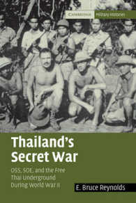 Link to an enlarged image of Thailand's Secret War : The Free Thai, OSS, and SOE during World War II (Cambridge Military Histories)