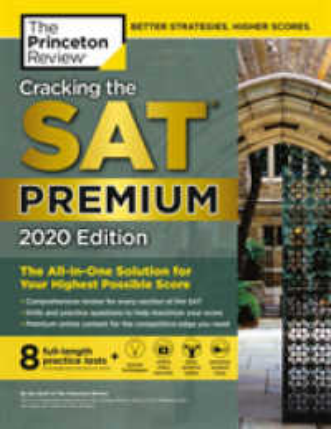 Link to an enlarged image of The Princeton Review Cracking the SAT 2020 (Princeton Review Sat Premium Prep) (CSM Premium)