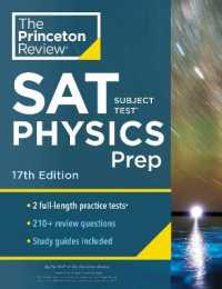 Link to an enlarged image of Cracking the SAT Subject Test in Physics : Practice Tests + Content Review + Strategies & Techniques (Princeton Review Sat Subject Test Physics Prep) (17th)